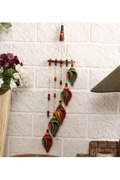 Terracotta Shankh Wind Chime