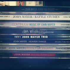 Every John Mayer album