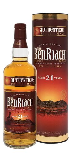 BenRiach 21 year old Authenticas