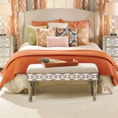 Give your room a makeover with the Spice Stitch 3-pc. Quilt Set! #Kirklands #BedandBath