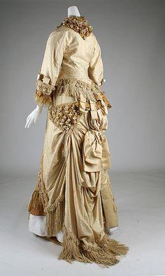 Dress Date: 1879–80 Culture: French Medium: silk Accession Number: C.I.X.51.24.5a, b