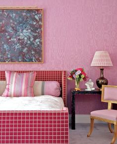 The Pink Pagoda: Pink in the Bedroom