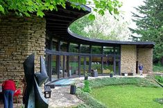 Herbert & Katherine Jacobs House II. Frank Lloyd Wright. 1946-8. Madison, Wisconsin. Usonian