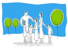 When children of divorce are being raised in a two-parent home, most people call these two-parent homes stepfamilies or blended families. Blending two completely different families takes time—and m… Co Parenting, Single Parenting, People Lie, Divorce And Kids, Foster Family, 10 Commandments, Family Illustration, Positive Behavior, Modern Family