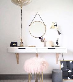 Come get amazed by the best dressing table inspiration. See more pieces at www. Come get amazed by the best dressing table inspiration. See more p Dressing Table Inspiration, Dressing Table Design, Room Inspiration, Table Dressing, Dressing Room, Scandinavian Dressing Tables, Home Design, Interior Design, Decoration Home