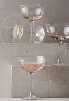 anthropologie champagne glasses wedding sparrow fine art bridal shop gift registry