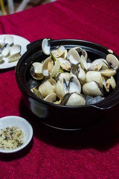 Amazing lemongrass clams, Ben Tre, Vietnam
