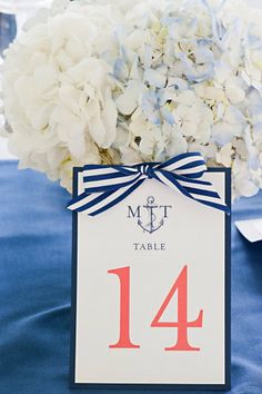 Same colors!! and kinda neat that the initials on this place card are mine and Matt's and the number is my birthday ;)