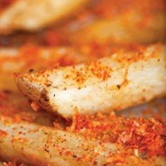 Oven-crispy French Fries With Paprika-parmesan Salt