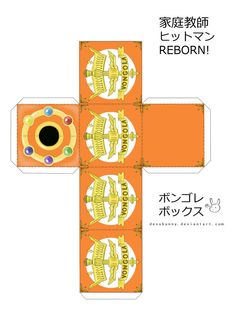 The Reborn! Vongola boxes are finished and I have great news! If you print these papercrafts out on cardstock, it can be used for TYL! Reborn Katekyo Hitman, Hitman Reborn, Ninja Art, Pretty Cure, Manga, The Cure, Anime, Geek Stuff, Deviantart