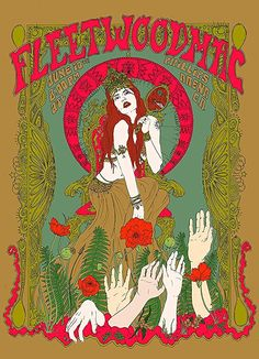 Rock Poster, Poster Wall, Poster Prints, Vintage Concert Posters, Vintage Posters, Band Posters, Cool Posters, Hippie Posters, Dorm Art