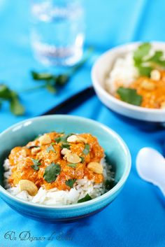 Butter chicken (curry indien de poulet aux noix de cajou)