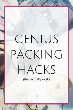 Here are the best packing hacks, and packing hacks that don't work! Save money and time by skipping these terrible packing hacks, and find out what packing tips and tricks to do instead! Whether you're packing for a long trip, or carryon packing, you will Packing Tips For Travel, Travel Essentials, Packing Hacks, Travelling Tips, Travel Hacks, Europe Packing, Traveling Europe, Backpacking Europe, Packing Lists