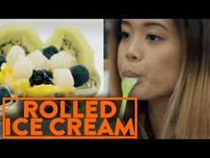 FUNG BROS FOOD: Thai Rolled Ice Cream in NYC! (Minus Celsius) - YouTube