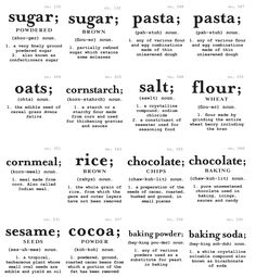 The Sweeting Spot: Pantry labels (and download) Kitchen Pantry, Kitchen Hacks, Kitchen Storage, Kitchen Decor, Organized Kitchen, Pantry Labels, Kitchen Jar Labels, Printable Labels, Free Printables