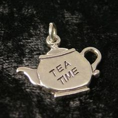 Sterling Silver Tea Time Tea Charm