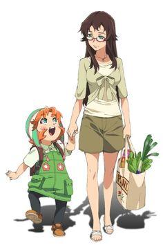 Mirai Nikki Houjou Reisuke and Rea Amano