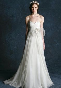 Bridal Gown Inspiration a board by www.myfauxdiamond.com #myfauxdiamond #weddings #jewelry  Jenny Yoo Collection Hathaway 1360B