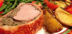 Karácsonyi menü: 10 mennyei húsétel az ünnepi asztalra - Receptneked.hu - Kipróbált receptek képekkel Holidays And Events, Steak, Pork, Christmas Recipes, Pork Roulade, Pigs, Steaks