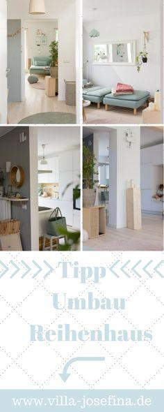 Umbau Reihenhaus, Wand Raus, Offener Wohnbereich, Lärchenparkett, Scandi  Style, Neue Grifflose