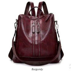 2019 Fashion Women Backpack High Quality Youth Leather Backpacks for Teenage Girls Female School Shoulder Bag Bagpack mochila Small Backpack, Backpack Bags, Messenger Bags, Fashion Bags, Fashion Backpack, Fashion Women, Unisex Trends, High Quality Backpacks, Backpack Pattern