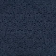 Dark Blue color Floral and Heirloom or Vintage pattern Damask or Jacquard type Upholstery Fabric called NAVY by KOVI Fabrics Living Room Upholstery, Upholstery Tacks, Upholstery Cushions, Upholstery Cleaner, Furniture Upholstery, Upholstery Fabrics, Tufted Headboards, Drapery Fabric, Blue Fabric