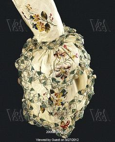 Sleeve, detail. England, mid-18th century