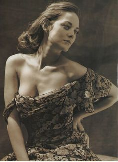 Marion Cotillard | by Bruce Weber for Vanity Fair Italy