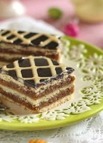 Juditka konyhája: ~ KARAMELLÁS ZSERBÓ ~ No Bake Cake, Waffles, Sweets, Cookies, Baking, Breakfast, Food, Eat, Christmas