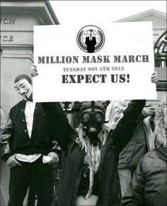 Millions mask march