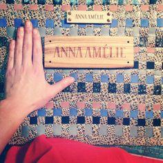 anna amelie leather bag