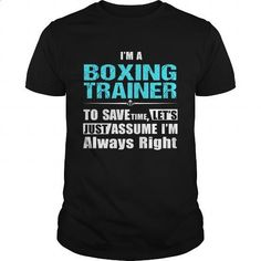 BOXING-TRAINER - #girls #tee shirt. MORE INFO => https://www.sunfrog.com/LifeStyle/BOXING-TRAINER-147219462-Black-Guys.html?60505