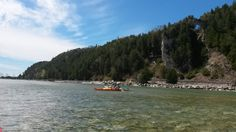 Come and see the beautiful rock cliffs over and under the water.Try our Arch Rock Tour Book Now @ mackinackayak.com