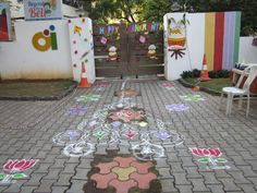 'Sankranthi celebrations  at Oi Playschool'