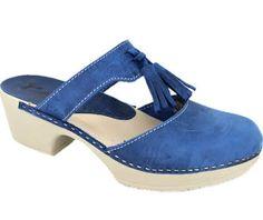 Calou Penny Strap Clog - Blue