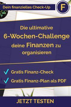 Du willst deine Finanzen in 6 Wochen im Griff haben? Du willst deine Sparpotenziale und Investitionsmöglichkeiten entdecken? Dann starte jetzt  und hol dir deinen gratis Finanz-Plan für deine Finanzen. #finanzen #erfolg #sparen #vermögensaufbau #investition #investieren #aktie #börse #sparplan #richtiganlegen #mehrgehalt #finanzielleintelligenz