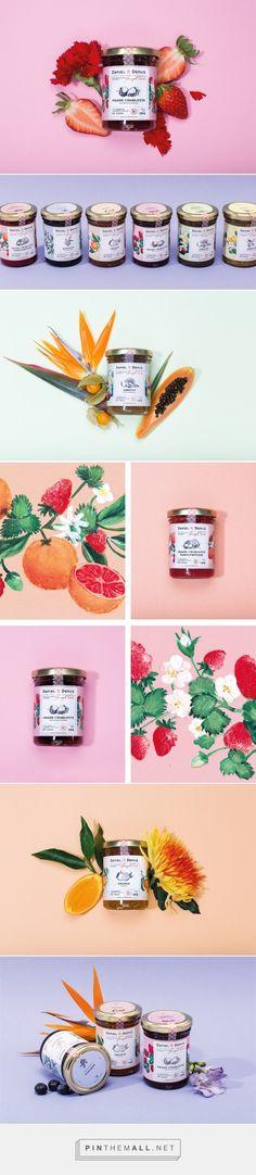 Daniel & Denise Preserves Packaging by Alessia Sistori | Logo Designer Bradenton, Web Design Sarasota, Tampa Fivestar Branding Agency #preserves #foodpackaging #packaging #package #packaginginspiration #packagedesign #design