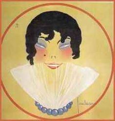 Mlle Spinelly by Georges Lepape