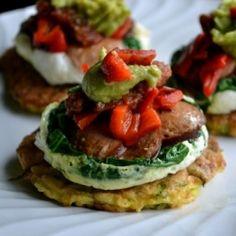 Turkey Zucchini Breakfast Tartelettes - 7 Weight Watchers Points and Paleo Diet Friendly!