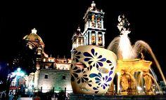 Zócalo de la ciudad de Puebla, México