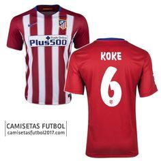 Primera camiseta de Atletico de Madrid KOKE 2015 2016  2fc8e07c3f47d