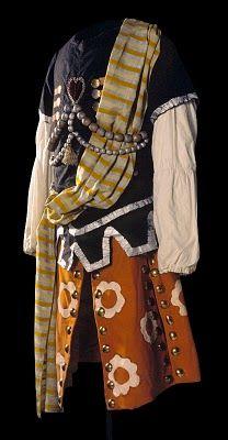Alexander Benois design for Ballets Russes.  Le Pavillion d'Armide 1907