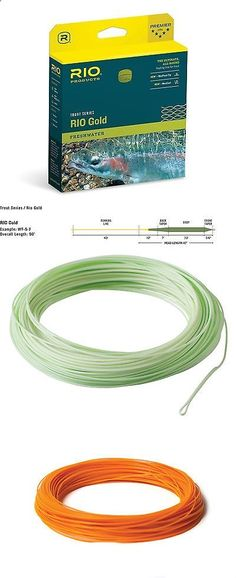 Fly Fishing Accessories 87098: Rio Gold Trout Series Floating Fly Fishing Lines All-Around Trout Floating Line -> BUY IT NOW ONLY: $47 on eBay!