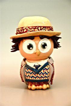 7th Hoot Owl Doctor Who Figure