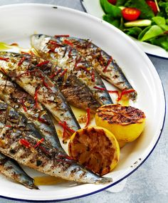 Let your summer sizzle with our simple and delicious BBQ recipes - this sardine dish with zingy chilli, garlic and lemon is light, healthy and totally tasty. | Tesco