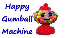 Happy Gumball Machine by feelinspiffy (Rainbow Loom)