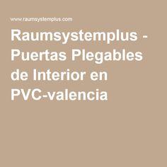 Raumsystemplus - Puertas Plegables de Interior en PVC-valencia