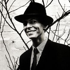 David Bowie photographed by Anton Corbijn for Oor Magazine, 1993.