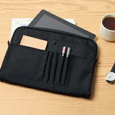 Bag In Bags Black, MUJI, £12.95 (B5) and £14.95 (A4)