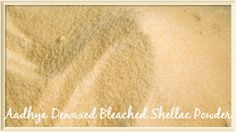 Shellac_powder